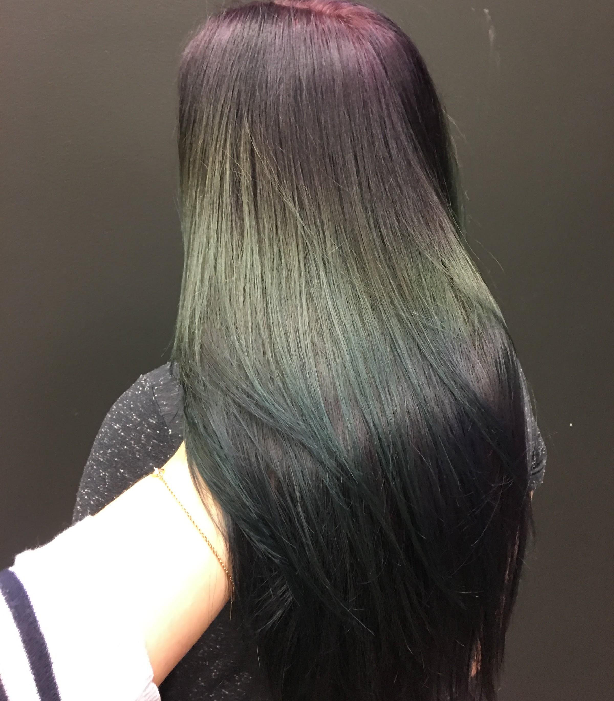 få bort blåa nyanser i håret