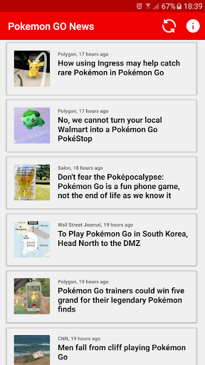 News: Pokemon GO