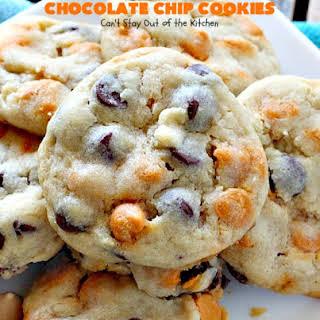 Sea Salt Caramel Chocolate Chip Cookies.