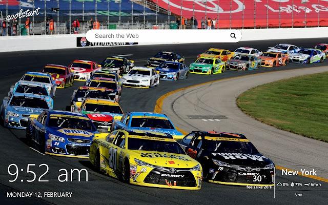 Nascar Racing HD Wallpapers New Tab Theme