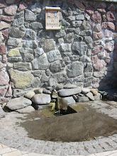 Photo: Источник св.Николая в парке Феофания. В этом парке есть несколько источников и один из них даже с купелью, где летом температура +8 - для закаленных:)