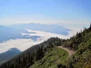 Photo: Im Mürztal liegt - wie so oft - Nebel.
