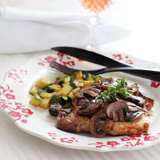 Herbed, Pan Fried Pork Chops