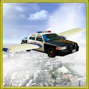 Car In Air : Flying Cop Car 3D