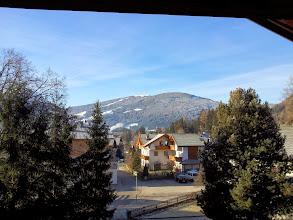 Photo: Blick vom Hotelzimmer auf den Kronplatz