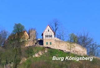 Photo: Erster Halt: Königsberg in Bayern - Burg