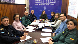 Durante la reunión se analizaron diversos aspectos sobre la implantación del sistema Viogén en el municipio.