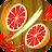 Fruits Slice - Fruit Cut 3D Icône