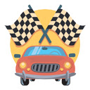 Race Cars - Drift Cars Backgrounds HD New Tab Icon