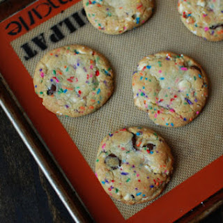 Funfetti Chocolate Chip Cookies