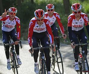 Lotto-Soudal avec sept coureurs dont plusieurs Belges au Tour de Pologne