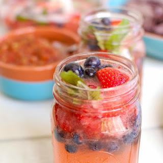 Strawberry Blueberry Lemonade Spritzer