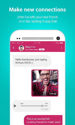 Moovz - The Global LGBT Social Network Screenshot