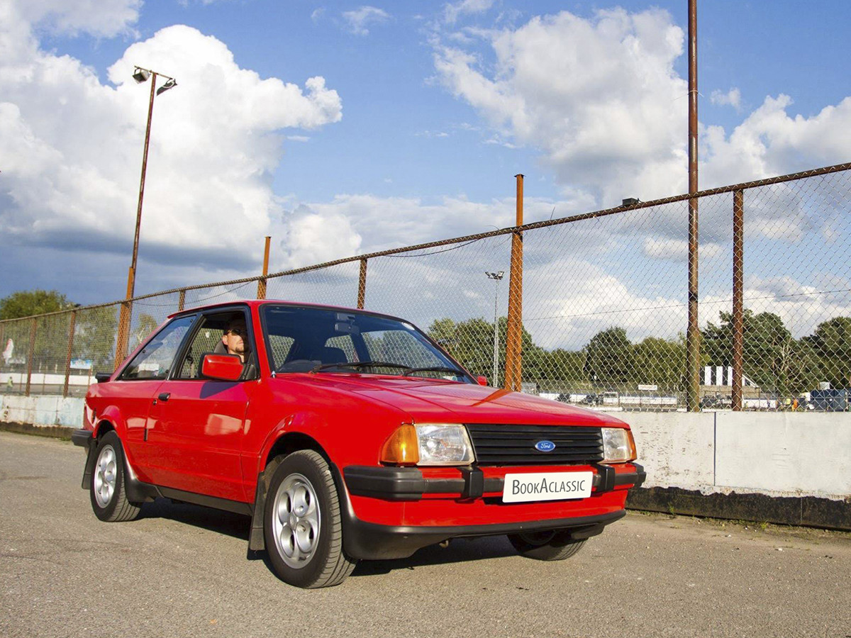 Ford Escort Xr3 Hire Bournemouth