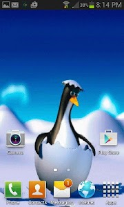 Penguin Egg Live Wallpaper screenshot 1
