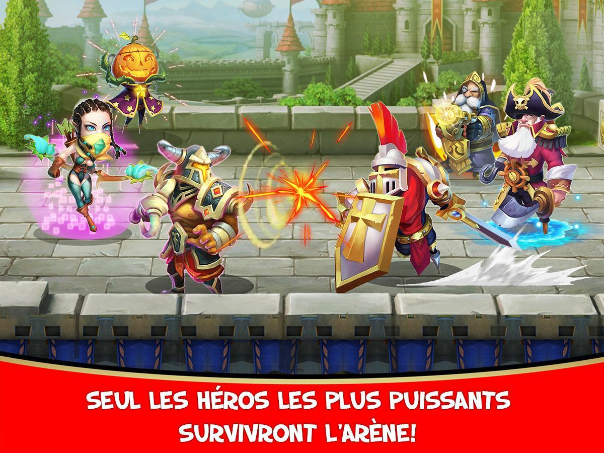 Clash de Châteaux:Castle Clash - screenshot