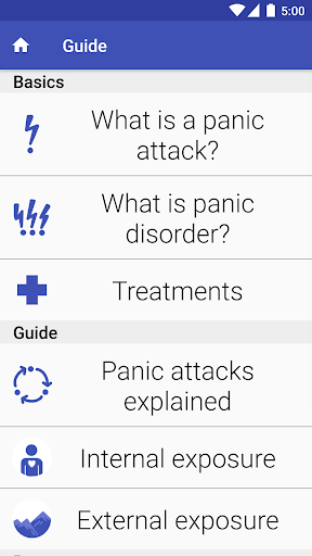 PanicShield - Panic Attack Aid Screenshot