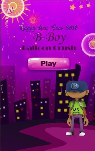 B-Boy Balloon Crush