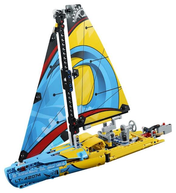 Contenido de Lego® 42074 Barco de Competición