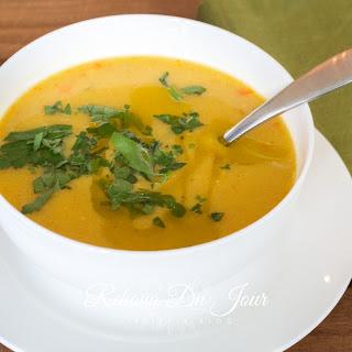 Shorba - Arabic Lentil Soup.