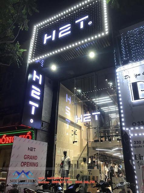 thi cong shop thoi trang nam h2t