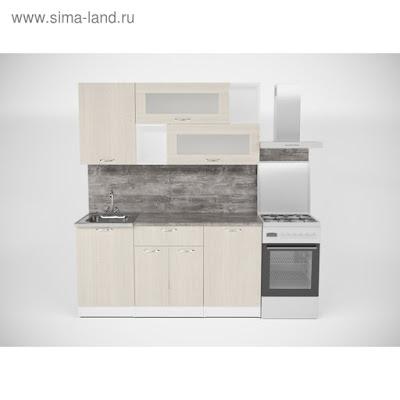 Кухонный гарнитур Лариса стандарт 1 1600 мм