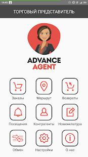 Advance Agent - náhled