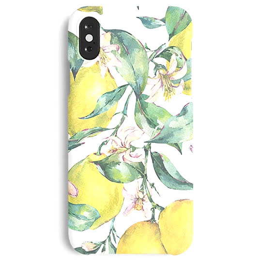 A Good Mobile Case Lemon iPhone X/XS