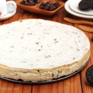 Skinny Cookies 'n Cream Cheesecake.