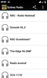 Sydney Radio - náhled