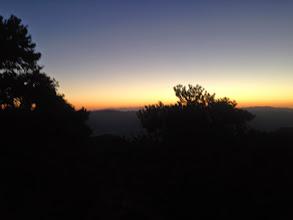 Photo: Sunrise while ascending was beautiful