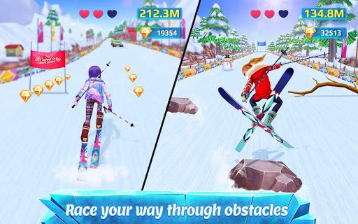 Ski Girl Superstar - Winter Sports & Fashion Game 1.0.7 screenshots 1