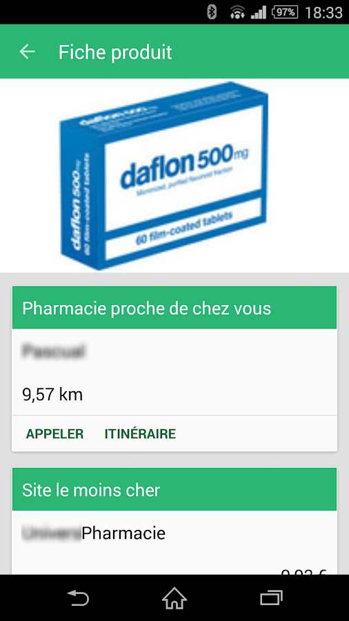 Unooc Pharmacies- screenshot