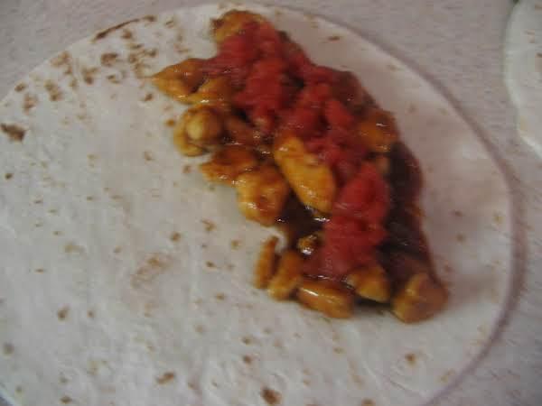 Bar B Q Chicken Quesadillas