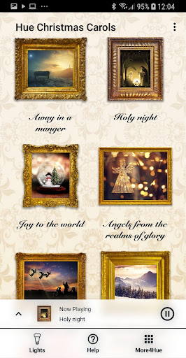 Screenshot for Hue Christmas Carols Advent in United States Play Store