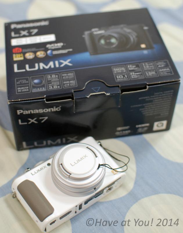 Lumix LX-7 with box