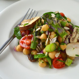 Lazy Day Chickpea Salad