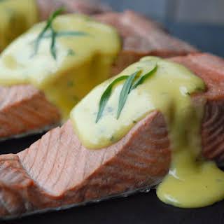 Poached Salmon with No-Fail Hollandaise.