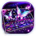 Twinkling Flash Butterfly Keyboard APK