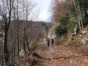 Photo: prvo idemo na vrh Samarskih stijena