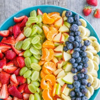 Fruit Salad with Orange Poppy Seed Syrup.