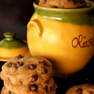 Olive Oil Chocolate Chip Cookie