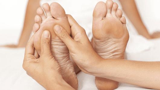 показания для массажа стоп