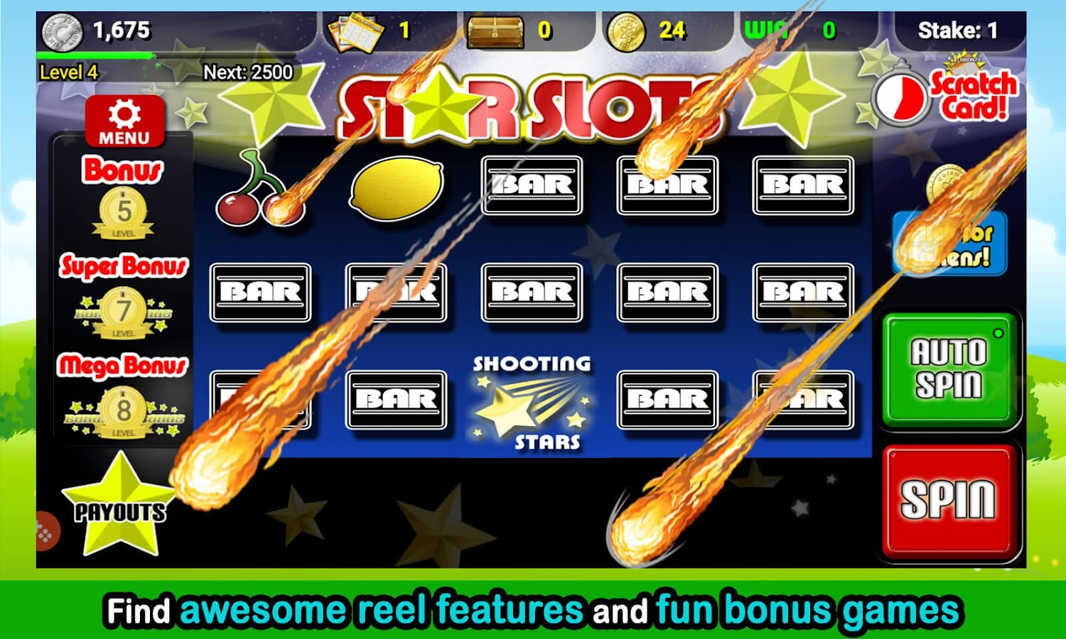 Slot Machine Arcade- screenshot