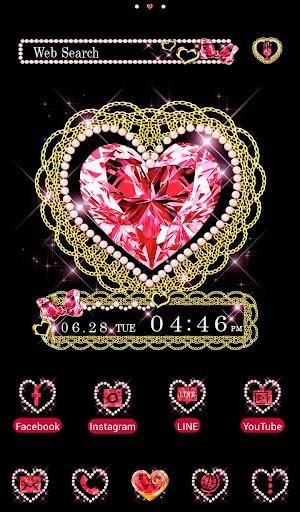 壁纸·图标 7月生日石~红宝石~