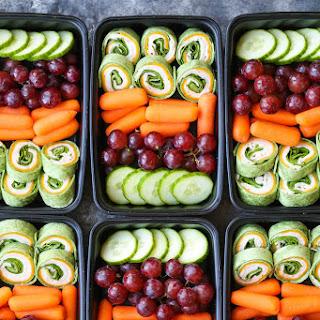 Turkey Spinach Pinwheels Meal Prep Recipe
