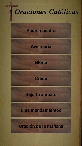 Catholic prayers in Spanish