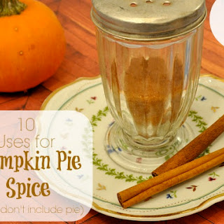 Homemade Pumpkin Pie Spice.