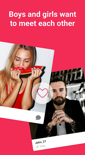 Meet, chat & date. Free dating app - Chocolate app screenshot