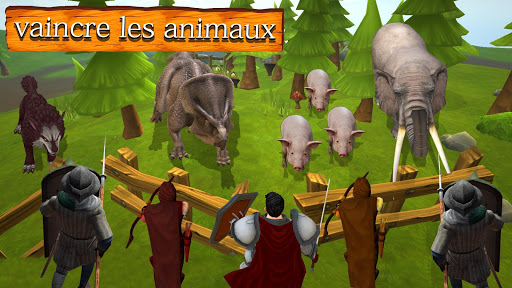 Télécharger Gratuit Empire de Warlords: Épique Guerriers mod apk screenshots 2